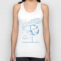sonic Tank Tops featuring Sonic Screwdriver by harebrained