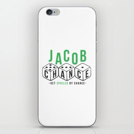 Jacob Chance iPhone Skin