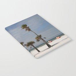 Clearwater Beach In Wintertime Notebook