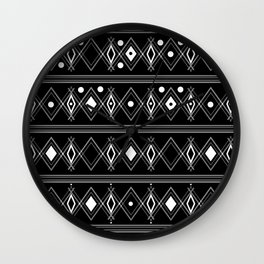 Black and white Art Deco. 23 Wall Clock