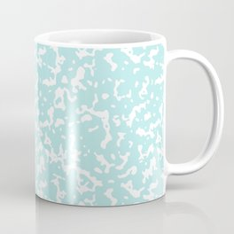 Mint and White Composition Notebook Coffee Mug