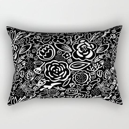 A Profusion of Flowers III Rectangular Pillow