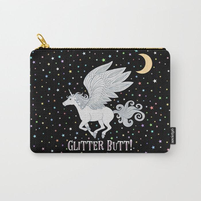 Glitter Butt! Carry-All Pouch
