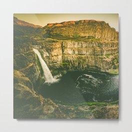 Hidden Waterfall Metal Print