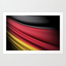 Flag of Germany Art Print