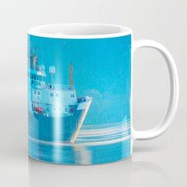Ship on Loch Lihnne Coffee Mug