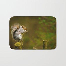 Cute Squirrel (Color) Bath Mat