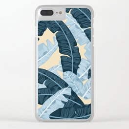 BANANA LEAVES 4 Clear iPhone Case