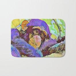 SmartMix Animal- chimpanzee 3 Bath Mat