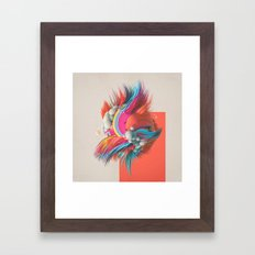 CONGESTICATED (everyday 05.31.16) Framed Art Print