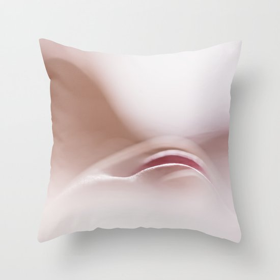 Staring.... at what? Throw Pillow