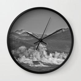 Geisers del Tatio Wall Clock
