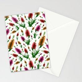 Australian Native Floral Bottlebrush Print Stationery Cards