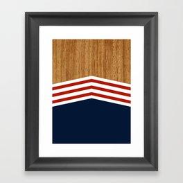Vintage Rower Ver. 3 Framed Art Print