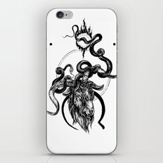 moon goat iPhone & iPod Skin