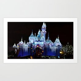 The Castle At Night Art Print