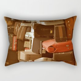 TOWER OF LUGGAGE Rectangular Pillow
