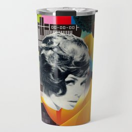 Television Art Travel Mug