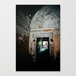 Inside Pompeii Canvas Print