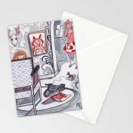 Never a Dull Moment Stationery Cards