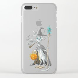Gandalfius by Dreamingsenga Clear iPhone Case