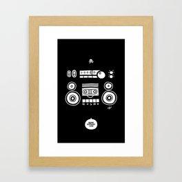 Boomboombox Framed Art Print
