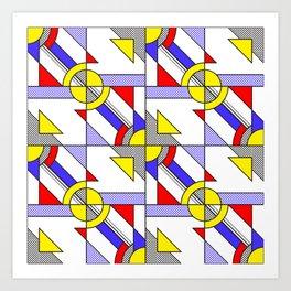 Pop Art Pattern Art Print