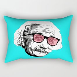 Einstein in summer Rectangular Pillow