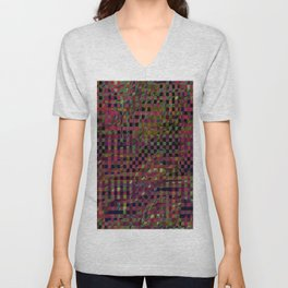 Abstract 147 Unisex V-Neck