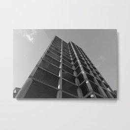 imposing structure Metal Print