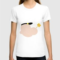 popeye T-shirts featuring 4menSmoking - Popeye by blaf