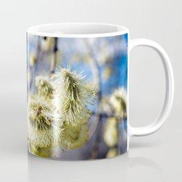 Willow Buds And Early Spring Bee Coffee Mug