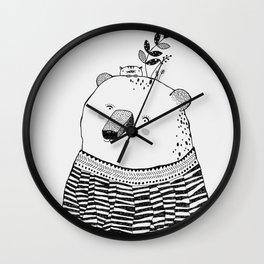 Cutie Pol Wall Clock