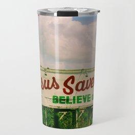 Jesus Saves Travel Mug
