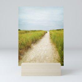Cape Ann Beach Trail Mini Art Print