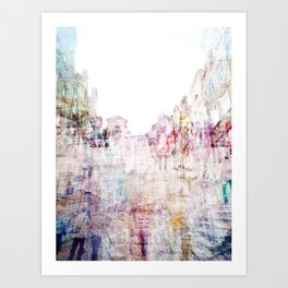 soft town Art Print