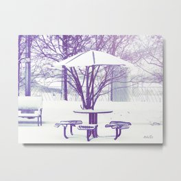 Sit down with me??? Metal Print