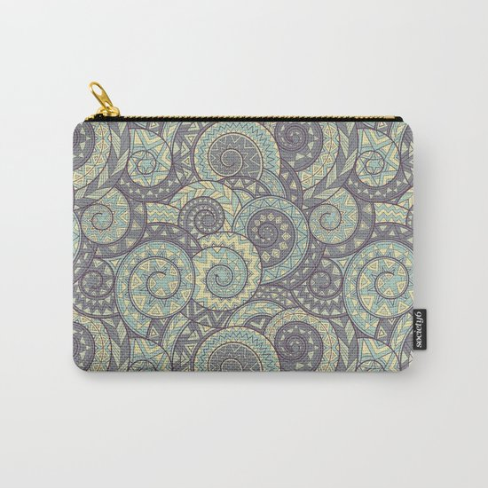 nagual. tribal seamless pattern Carry-All Pouch