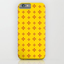 flag of new mexico 10 iPhone Case