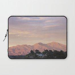 Sunset over Saddleback Mountain Laptop Sleeve