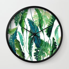tropical compilation Wall Clock