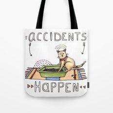 Accidents Happen Tote Bag