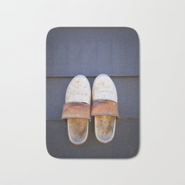 Typical dutch clogs Bath Mat