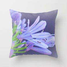 open your heart for the beauty of flowers Throw Pillow