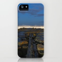 Cloudy Horizon iPhone Case