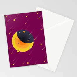021 OWLY meteor shower Stationery Cards