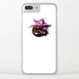 Hail Eris Clear iPhone Case