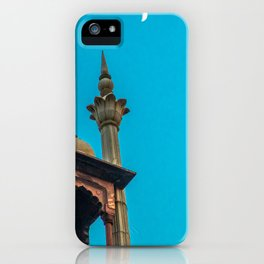 Jama Masjid´s dome in Delhi iPhone Case