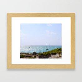 Sun Dance Cove Framed Art Print