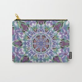 Abstract Flower AA YY QQ Carry-All Pouch
